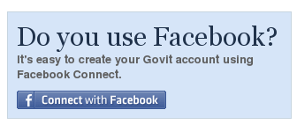 Facebook Connect Govit.comissa